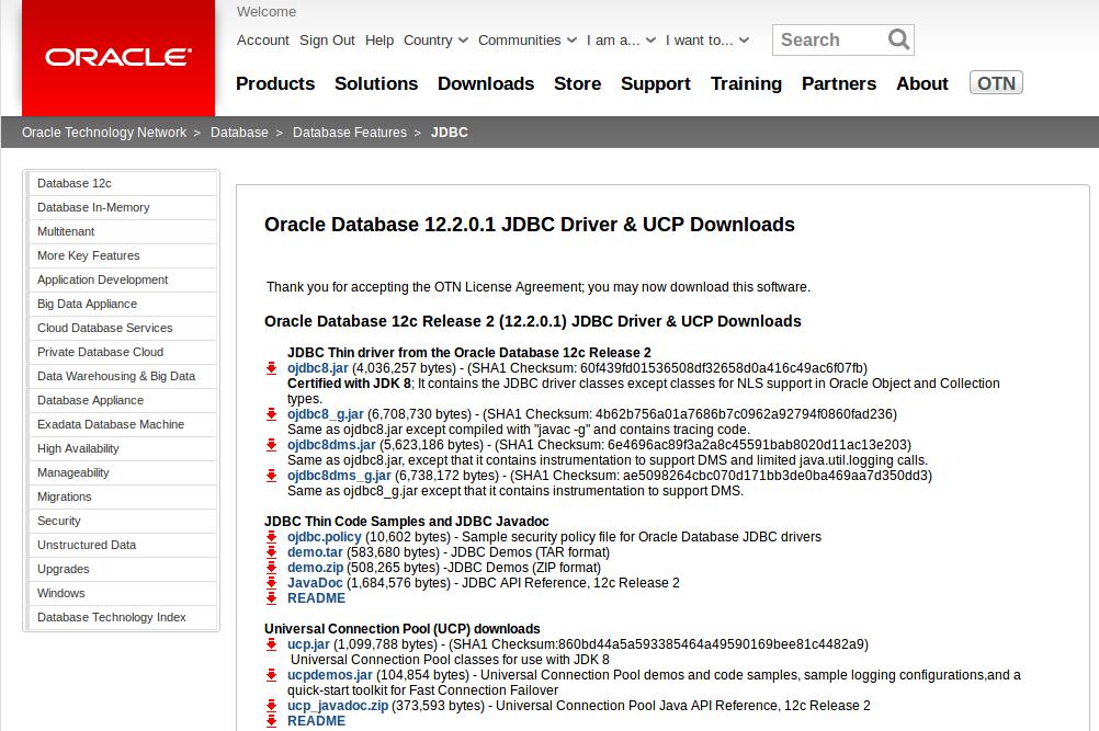 Oracle JDBC Maven