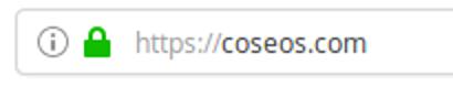 Sichere URL https://coseos.com